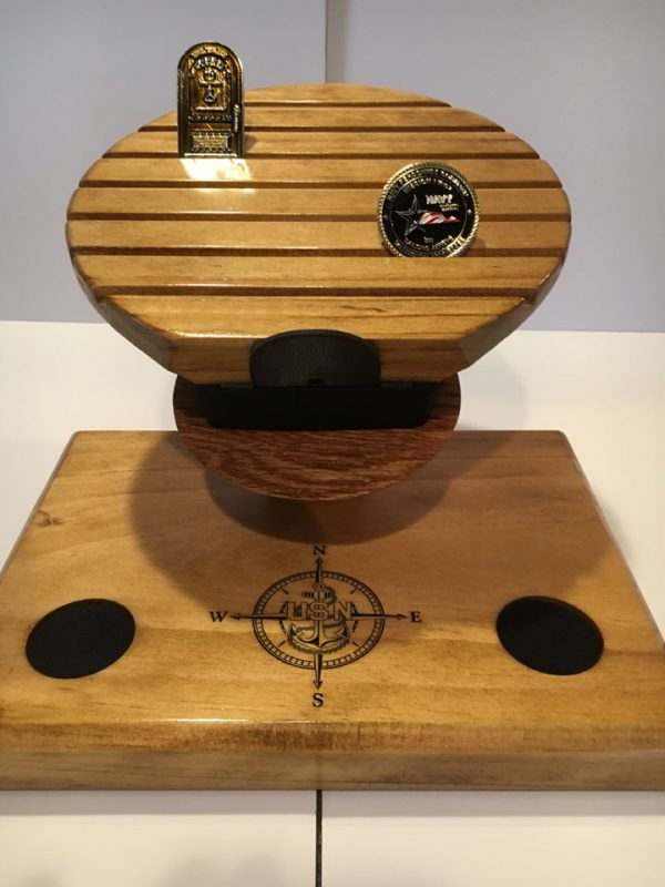 Navy Combination Cover Coin Holder